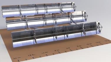 Syst me de poursuite thermique concentration parabolique for Miroir parabolique solaire