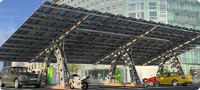 Parking solaire