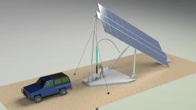 Bombeo con seguimiento solar